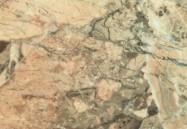 Detallo técnico: BRECCIA AURORA, brecha natural pulida italiana