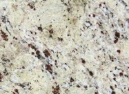 Detallo técnico: CRYSTAL CREAM, granito natural pulido brasileño