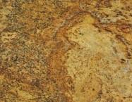 Detallo técnico: GIALLO CALDERA, granito natural pulido brasileño