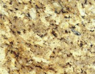 Detallo técnico: GIALLO NAPOLEONE, granito natural pulido brasileño