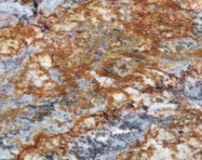 Detallo técnico: GOLDEN TYPHOON, granito natural pulido brasileño
