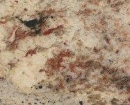 Detallo técnico: SIENA BORDEAUX, granito natural pulido brasileño