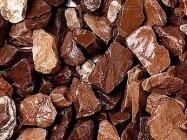 Detallo técnico: MARRONE MOGANO, mármol natural formado a grano español
