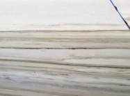Detallo técnico: test zebrino, mármol natural pulido italiano
