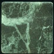 Detallo técnico: VERDE PATRICIA, mármol natural tamboleado italiano