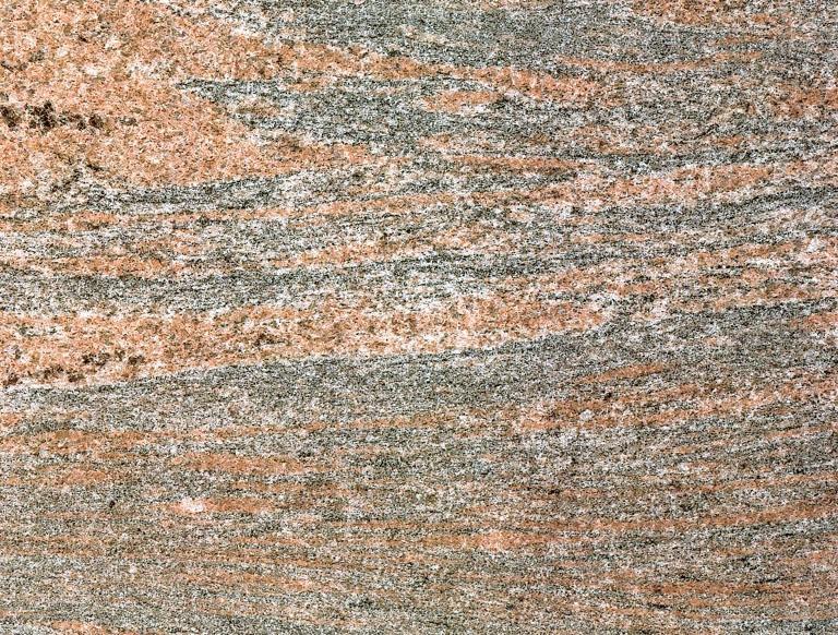 Red tupin brasil granito rojo claro piedra veteada gris for Granito color rojo