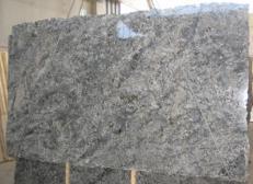 Suministro planchas pulidas 2 cm en granito natural AZUL ARAN C-2743. Detalle imagen fotografías