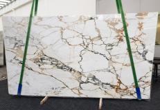 Suministro planchas pulidas 2 cm en mármol natural CALACATTA MACCHIAVECCHIA GL 1131. Detalle imagen fotografías
