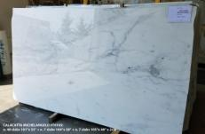 Suministro planchas pulidas 2 cm en mármol natural CALACATTA MICHELANGELO AA T0165. Detalle imagen fotografías