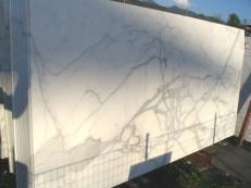 Suministro planchas pulidas 2 cm en mármol natural CALACATTA ORO EXTRA C-0412. Detalle imagen fotografías