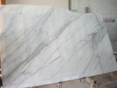 Suministro planchas pulidas 2 cm en mármol natural CALACATTA ORO EXTRA EM_0412. Detalle imagen fotografías