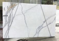 Suministro planchas pulidas 2 cm en mármol natural CALACATTA ORO EXTRA GL D190223. Detalle imagen fotografías