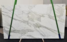 Suministro planchas pulidas 2 cm en mármol natural CALACATTA ORO EXTRA GL 1090. Detalle imagen fotografías