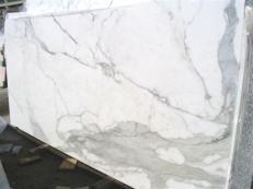 Suministro planchas pulidas 2 cm en mármol natural CALACATTA ORO EDM25108. Detalle imagen fotografías