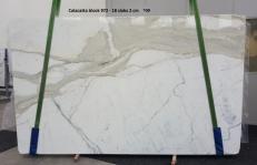 Suministro planchas pulidas 2 cm en mármol natural CALACATTA ORO GL 972. Detalle imagen fotografías