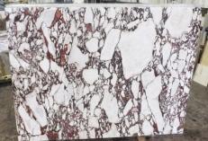 Suministro planchas pulidas 2 cm en mármol natural CALACATTA VAGLI ROSATO AA R125. Detalle imagen fotografías