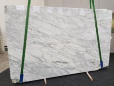 Suministro planchas pulidas 2 cm en mármol natural CALACATTA VAGLI VENA FINA GL 1128. Detalle imagen fotografías