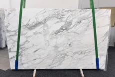 Suministro planchas pulidas 2 cm en mármol natural CALACATTA 1188. Detalle imagen fotografías