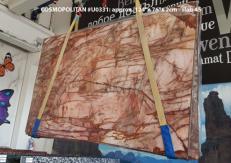 Suministro planchas pulidas 2 cm en cuarcita natural COSMOPOLITAN U0331. Detalle imagen fotografías