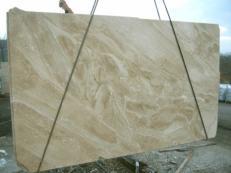 Suministro planchas pulidas 3 cm en mármol natural DAINO REALE MC-1446. Detalle imagen fotografías