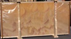 Suministro planchas pulidas 2 cm en ónix natural HONEY ONYX 14361_L4. Detalle imagen fotografías
