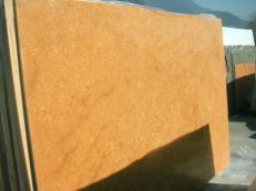 Suministro planchas pulidas 2 cm en mármol natural INCA GOLD EM_0391. Detalle imagen fotografías
