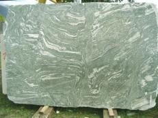 Suministro planchas pulidas 2 cm en granito natural KUPPAM GREEN EDM25113. Detalle imagen fotografías