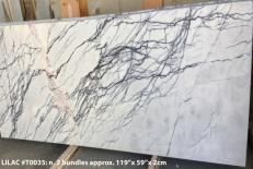 Suministro planchas mates 2 cm en mármol natural LILAC AA T0035. Detalle imagen fotografías