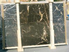 Suministro planchas pulidas 2 cm en mármol natural NOIR SAINT LAURENT E-14526. Detalle imagen fotografías
