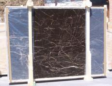 Suministro planchas pulidas 2 cm en mármol natural NOIR SAINT LAURENT E-NSL14745. Detalle imagen fotografías