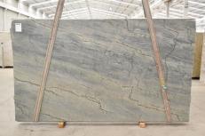 Suministro planchas pulidas 1.2 cm en cuarcita natural OCEAN BLUE 2382. Detalle imagen fotografías