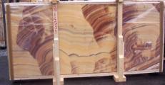 Suministro planchas pulidas 2 cm en ónix natural ONICE ARCOIRIS E-14535. Detalle imagen fotografías