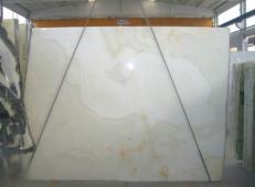 Suministro planchas pulidas 2 cm en ónix natural ONICE BIANCO SR-2010119. Detalle imagen fotografías