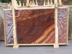 Suministro planchas pulidas 2 cm en ónix natural ONYX RED EXTRA E-ORE14634. Detalle imagen fotografías