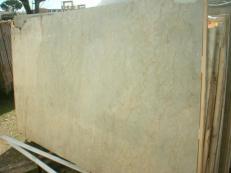 Suministro planchas pulidas 2 cm en mármol natural SAHARA GOLD EM_375. Detalle imagen fotografías