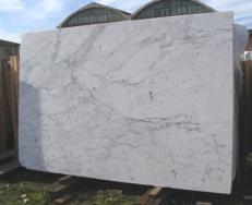 Suministro planchas pulidas 3 cm en mármol natural STATUARIETTO E-US524. Detalle imagen fotografías