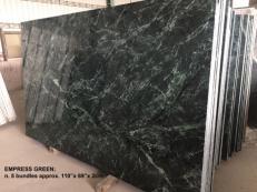 Suministro planchas pulidas 2 cm en mármol natural TAIWAN GREEN TW 2504. Detalle imagen fotografías