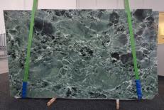 Suministro planchas pulidas 2 cm en mármol natural VERDE ALPI GL 1041. Detalle imagen fotografías