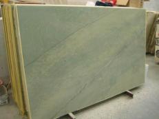 Suministro planchas pulidas 2 cm en mármol natural VERDE LAGUNA SR_060717. Detalle imagen fotografías