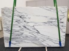 Suministro planchas pulidas 0.8 cm en mármol natural ARABESCATO CORCHIA GL 1139. Detalle imagen fotografías