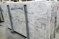 Suministro planchas pulidas 0.8 cm en Dolomita natural ARTIC WHITE 1236G. Detalle imagen fotografías