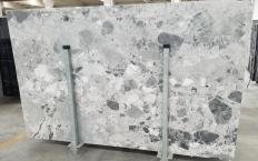 Suministro planchas pulidas 0.8 cm en mármol natural Babylon Grey 1553M. Detalle imagen fotografías
