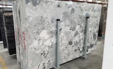 Suministro planchas pulidas 3 cm en mármol natural Babylon Grey 1553M. Detalle imagen fotografías
