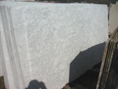 Suministro planchas mates 2 cm en mármol natural BIANCO BROUILLE' EM_0492B. Detalle imagen fotografías