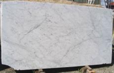 Suministro planchas pulidas 2 cm en mármol natural BIANCO CARRARA CD EDM25106. Detalle imagen fotografías