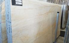Suministro planchas pulidas 0.8 cm en mármol natural BIANCO FANTASY AA T0218. Detalle imagen fotografías