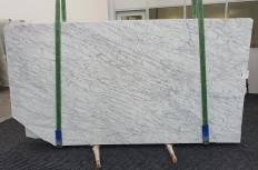 Suministro planchas pulidas 0.8 cm en mármol natural BIANCO GIOIA VENATO 1253. Detalle imagen fotografías