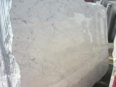 Suministro planchas pulidas 0.8 cm en mármol natural BIANCO GIOIA VENATO EM_0238. Detalle imagen fotografías
