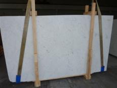 Suministro planchas pulidas 1.2 cm en mármol natural BIANCO GIOIA VENATO SC_978. Detalle imagen fotografías