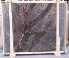 Suministro planchas pulidas 0.8 cm en brecha natural BRECCIA ANTICA E-14709. Detalle imagen fotografías